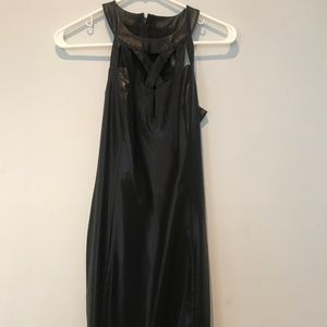 Guess Dress Black Coated Size 0